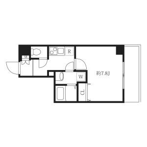 大田區池上-1K公寓大廈 房間格局