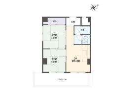 神戸市兵庫区 - 湊町 简易式公寓 2DK