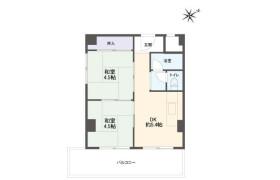 2DK Apartment in Minatocho - Kobe-shi Hyogo-ku