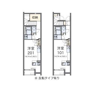 1R Apartment in Horifune - Kita-ku Floorplan