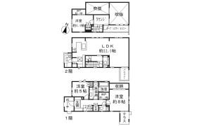 3SLDK House in Kamimeguro - Meguro-ku