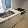 2LDK Apartment to Rent in Shinagawa-ku Kitchen