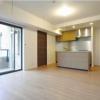 在世田谷区购买2LDK 公寓大厦的 起居室