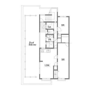 3LDK Mansion in Hashimotocho - Nagoya-shi Chikusa-ku Floorplan