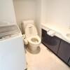 1R マンション 港区 トイレ
