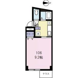 足立区扇-1K公寓大厦 楼层布局