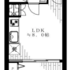 1LDK Apartment to Buy in Meguro-ku Floorplan