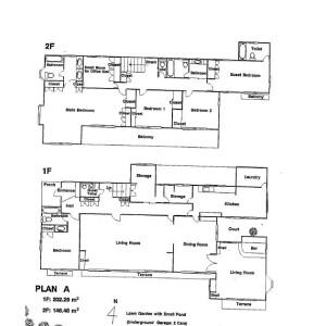 5SLDK House in Motoyamacho okamoto - Kobe-shi Higashinada-ku Floorplan