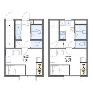 1K Apartment in Ebara - Shinagawa-ku Floorplan