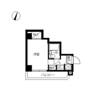 1R Apartment in Ikeda - Kawasaki-shi Kawasaki-ku Floorplan