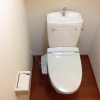 1K Apartment to Rent in Musashino-shi Toilet