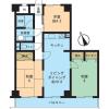 3LDK Apartment to Rent in Yokosuka-shi Floorplan