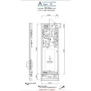 1K Apartment in Tsurumaki - Setagaya-ku Floorplan