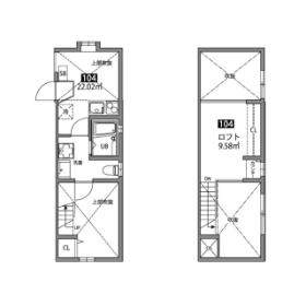 1DK Mansion in Minamikarasuyama - Setagaya-ku Floorplan
