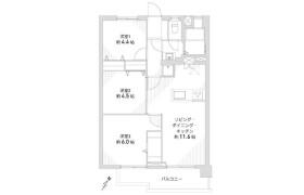 3LDK Apartment in Kamenoi - Nagoya-shi Meito-ku