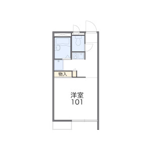 1K Apartment in Minamikase - Kawasaki-shi Saiwai-ku Floorplan