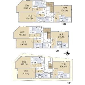 Whole Building {building type} in Nishikahei - Adachi-ku Floorplan
