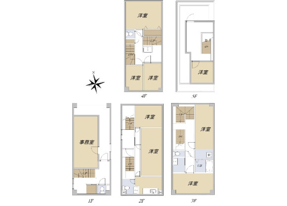 Whole Building Office to Buy in Taito-ku Floorplan