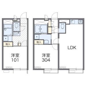 1LDK Mansion in Higashiikebukuro - Toshima-ku Floorplan