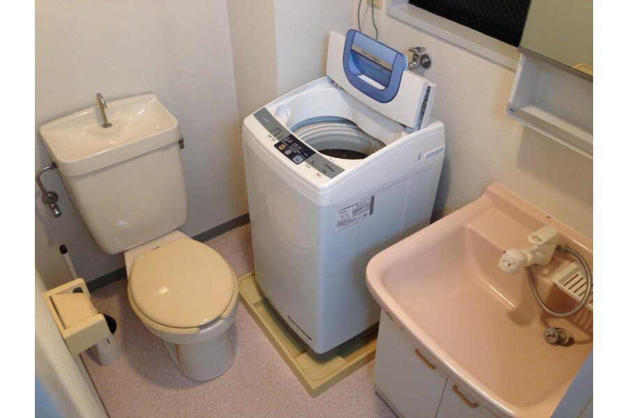1K Apartment to Rent in Kawasaki-shi Asao-ku Toilet