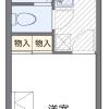 1K Apartment to Rent in Kobe-shi Nada-ku Floorplan