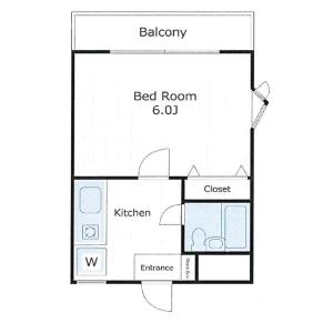 1K Mansion in Shimotakaido - Suginami-ku Floorplan