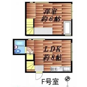 武藏野市吉祥寺北町-1LDK公寓大廈 房間格局