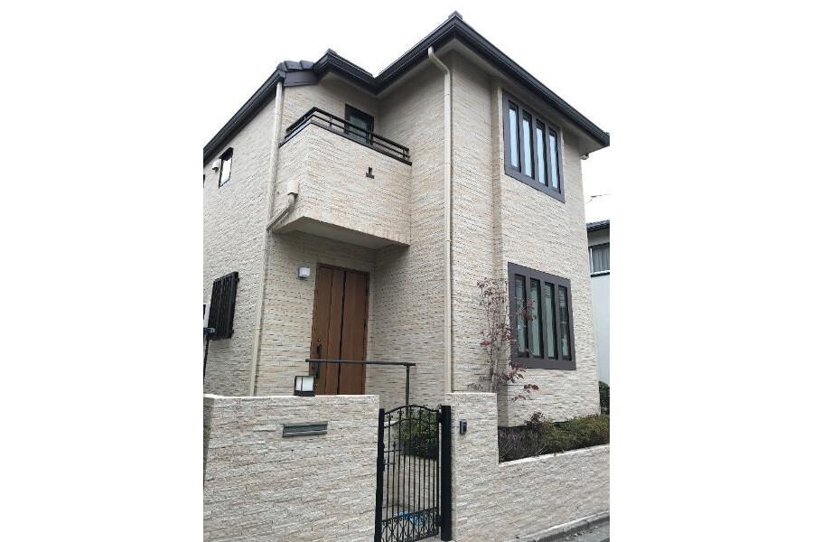 在世田谷区购买4LDK 独栋住宅的 户外