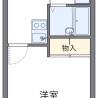 1K Apartment to Rent in Tomigusuku-shi Floorplan