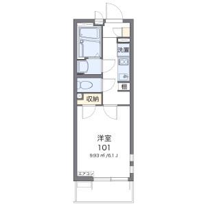 1K Mansion in Unoki - Ota-ku Floorplan