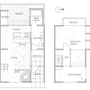 2LDK House to Rent in Kyoto-shi Kita-ku Floorplan