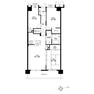3LDK {building type} in Katase - Fujisawa-shi Floorplan