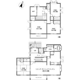 4LDK {building type} in Oiwake - Kitasaku-gun Karuizawa-machi Floorplan