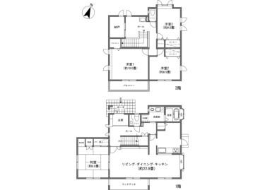 4LDK House to Buy in Kitasaku-gun Karuizawa-machi Floorplan