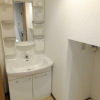 1K Apartment to Rent in Shinjuku-ku Washroom