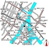 2LDK マンション 中央区 地図