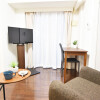 在文京區內租賃1R 公寓大廈 的房產 起居室