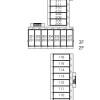 1K Apartment to Rent in Saitama-shi Minami-ku Layout Drawing