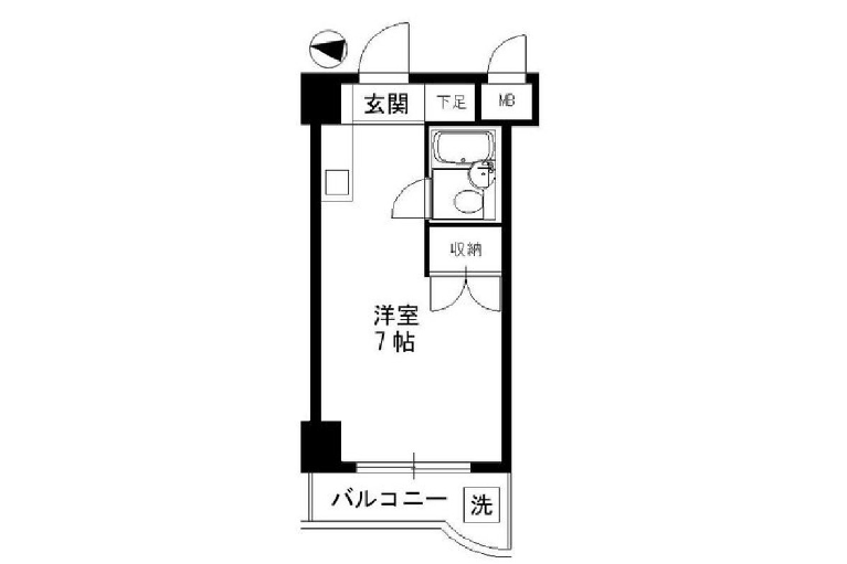 1R Apartment to Rent in Katsushika-ku Exterior