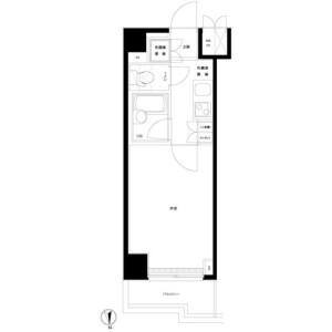 1K Mansion in Maruyama - Nakano-ku Floorplan