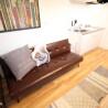 在大阪市西成区内租赁1LDK 公寓 的 起居室