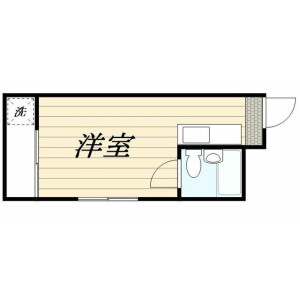 1R Mansion in Yoga - Setagaya-ku Floorplan