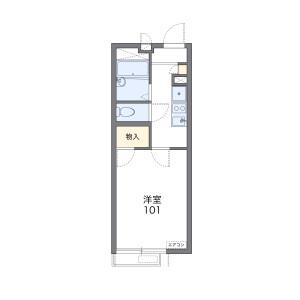 1K Apartment in Tokumaru - Itabashi-ku Floorplan