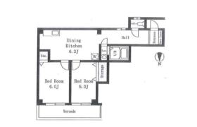 2DK Apartment in Futaba - Shinagawa-ku