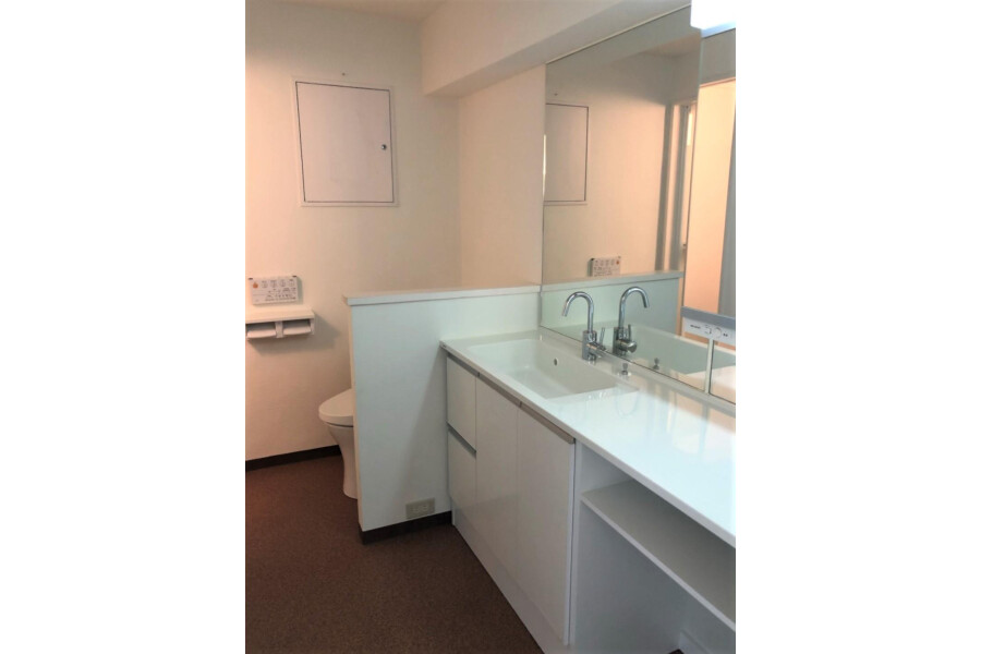 1R Apartment to Buy in Kyoto-shi Yamashina-ku Washroom