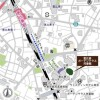 1LDK Apartment to Rent in Shibuya-ku Access Map