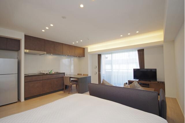 1LDK Serviced Apartment to Rent in Shibuya-ku Interior