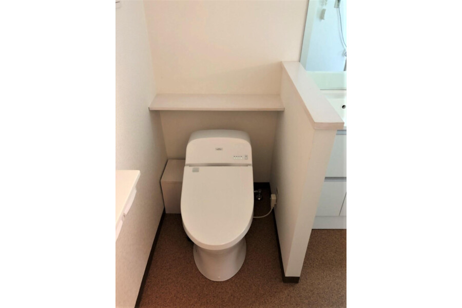 1R Apartment to Buy in Kyoto-shi Yamashina-ku Toilet