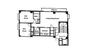 港區西麻布-2LDK公寓