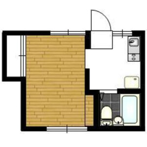 1K Mansion in Asagayakita - Suginami-ku Floorplan